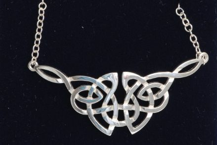 Celtic Interlaced Knot Necklace C55